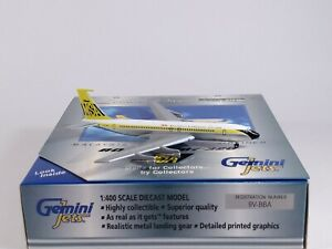 MSA MALAYSIA SINGAPORE AIRLINES Boeing 707-320 Model 1:400 Scale Gemini Jets
