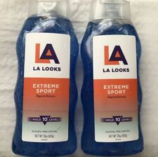 L.A. Looks Hair Gel 20 oz Extreme Sport Blue Lot of 2 Brand New!