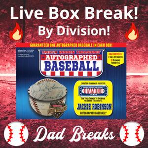 AL EAST (5 MLB TEAMS) TriStar 2020 autographed/signed Baseball LIVE BOX BREAK