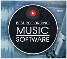 MUSIC & AUDIO RECORDING & EDITING STUDIO MP3 SOUND SOFTWARE FOR PC