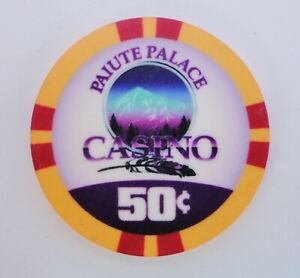 Paiute Palace Casino ~ Bishop, CA ~ 50¢ chip