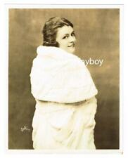 DALE WINTER MUSICAL STAGE ACTRESS STAMPED WHITE STUDIO BROADWAY PORTRAIT c.1924