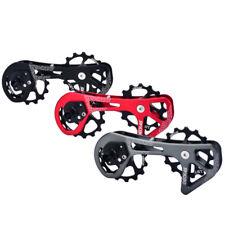 Rear Derailleur Pulley Steel Bearing Jockey Wheel 15T-15T f/ SHIMANO Bike DECKAS