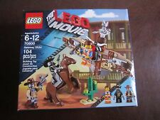 LEGO New the Lego movie 70800 Getaway Glider 104 pcs Building Toy horse play gun