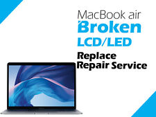 "Apple MacBook Air 13"" A1932 Retina Broken LCD LED Replacement Service"