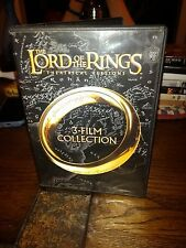 The Lord of the Rings: 3-Film Collection (DVD, 2014, 3-Disc Set, Theatrical Vs)