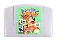 Banjo-Tooie (Nintendo 64, 2000) Authentic Clean and Tested N64 - Authentic Cart