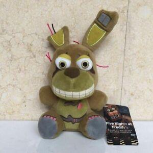 FNAF Sanshee Plushie Five Nights at Freddy's Toy Plush Bear Kid Doll Springtrap