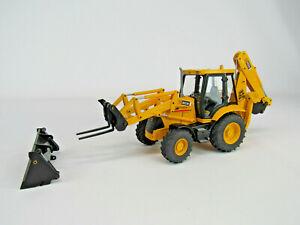1:25 Joal JCB 3CX Backhoe RARE Tractor Loader Backhoe TLB Hard To Find!!!