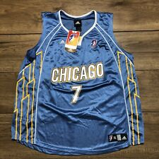 Chicago Sky Official WNBA Jersey Adidas Extra Large Toliver #7