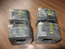 Lot of 4 Square D 2936 S1-C27A Coils (120 Volt)