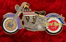 Hard Rock Cafe Pin AMERICAN FLAG MOTORCYCLE Gas tank paint job online chopper le