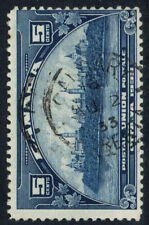 Canada #202(8) 1933 5 cent dark blue PARLIAMENT BUILDINGS CALGARY AB CV$4.50