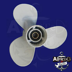 YAMAHA 11 5/8 x 11-g NEW Propeller Prop 40-50-60HP OUTBOARDS 3 Blade Aluminum