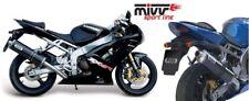 ESCAPE MIVV KAWASAKI zx-6 R 636 Año bj.03-04 (ovalado,acero inox. ,Motocicleta)