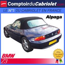 Bmw Z3 cabriolet - Capote en Alpaga noire avec poche latérale