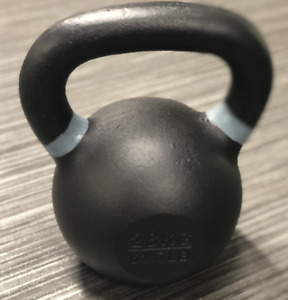 28kg Kettlebells Cast Iron Weights Home Gym Fitness Aerobic Exercise - NEW