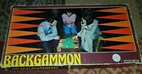 Vintage INGHAM DAY Backgammon Board Game  1970's FREE P&P