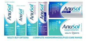 Hemorrhoids Piles Anal Itching Treatment 3/4 Way Action - Anusol Multi Variation