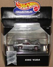 "KING 'KUDA ""SPOILERS"", ZAMAC finish, Hot Wheels 1:64, SHIPS FAST, NEW in Box!"