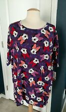LulaRoe Irma Disney! Large, Minnie Mouse NWT