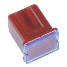 50 A Rosso Basso Profilo FUSIBILE CARTUCCIA (tipo JCase)
