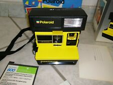 Polaroid super color Gialla Vintage