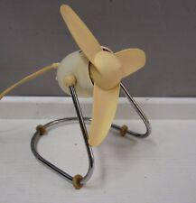 Vintage table fan ventilator Mid century 50's  AS Albin Sprenger  Works perfect