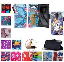 """for 6"""" T-Mobile +REVvL PLUS Case Wallet Fold Kick stand Pouch Purse Flip Cover"""