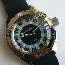 Russische mechanische Uhr. Automatik. Vostok. DIVER. 20 ATM.
