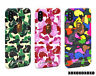 A Bating Ape Bape ABC Camo Phone Case Cover For iPhone XS Max XR X 8 7 Plus 6S
