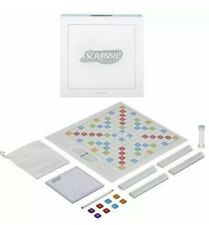 NEW Scrabble Pearl White Tiles Limited Edition by Hasbro Board Game SEALED BOX!