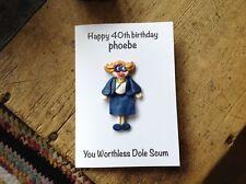Birthday Card Pauline League Of Gentlemen Handmade Personalised
