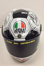 VALENTINO ROSSI Autograph SIGNED Race Replica Mini Helmet 3 AFTAL COA