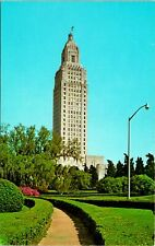 Baton Rouge LA State Capitol Building Postcard unused (13063)