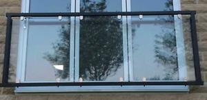Glass Balcony / Juliet Balcony - Toughened Safety Glass