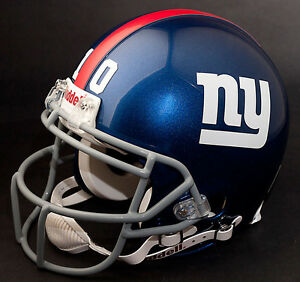 ELI MANNING Edition NEW YORK GIANTS Riddell REPLICA Football Helmet NFL