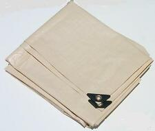 10' x 12' TAN / BEIGE HEAVY DUTY POLY TARP with UV BLOCKER ** Free Shipping **