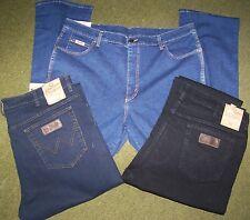 3 WRANGLER jeans Texas stretch Mid Stone + Nero + Blue Black Tg. W32/L34