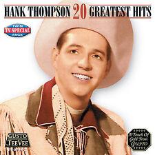"HANK THOMPSON, CD ""20 GREATEST HITS"" NEW SEALED"