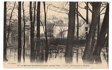 CPA 94 - CRETEIL (Val de Marne) - 317. La Passerelle du Morbras - inondations