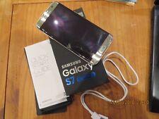 Samsung Galaxy S7 Edge  G935F 32 GB - silver titanium (Ohne Simlock) Glas defekt