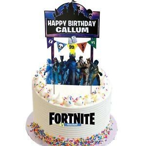 Fortnight Themed Cake Topper Kit
