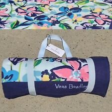 "Vera Bradley Beach Blanket 64"" X 64"" XL Towel In Marian Floral"