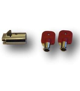 Tubular plug-lock (T handle Barrel) for Drink, Coffee, Snack, Vending Machine