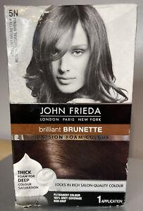 John Frieda Brilliant Brunette Medium - Natural Brown 5N Precision Foam Colour