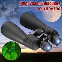HD Zoom Ottico 20-180x100 Binocolo Telescopio Lente Visione Diurna /