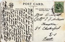 Family History Postcard - Brown - Great Chesterford - Essex - Ref 2360A