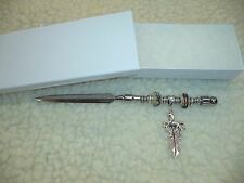 Western Horse & Feather Beaded Letter Opener - One Of A Kind!