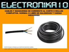100 METROS MANGUERA NEGRA 3 x 2,5 mm CABLE FLEXIBLE 3x2,5mm 1KV 1000VCORTE ROLLO